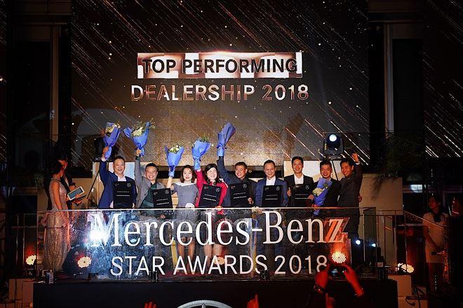 haxaco chiếm lĩnh hầu hết các giải thưởng tại lễ tôn vinh đại lý của mercedes-benz việt nam